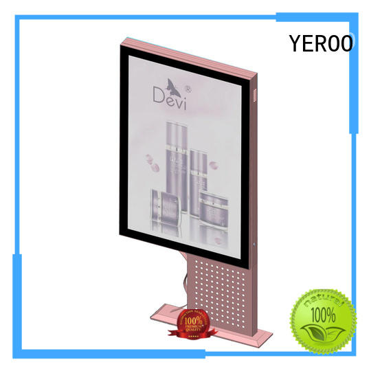 YEROO standing light box for super mall