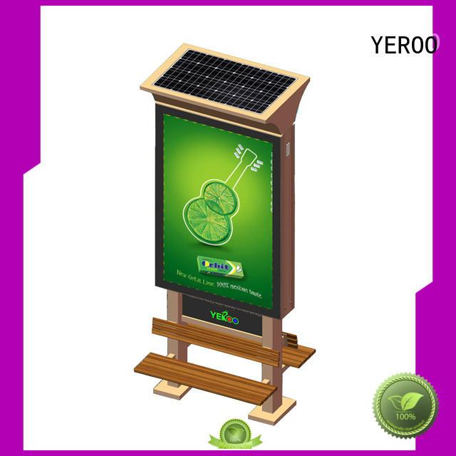YEROO high-end aluminum light box best quality for marketing