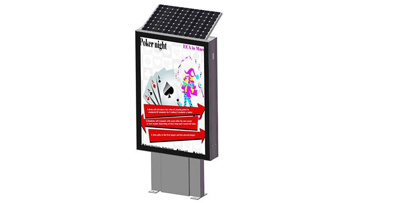 YEROO-Find Standing Light Box Factory Wholesale Energy Save Solar