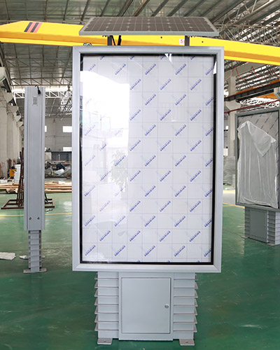 YEROO-Best Standing Light Box Street Adverting Solar Light Boxyr-slb-0007 Manufacture-17