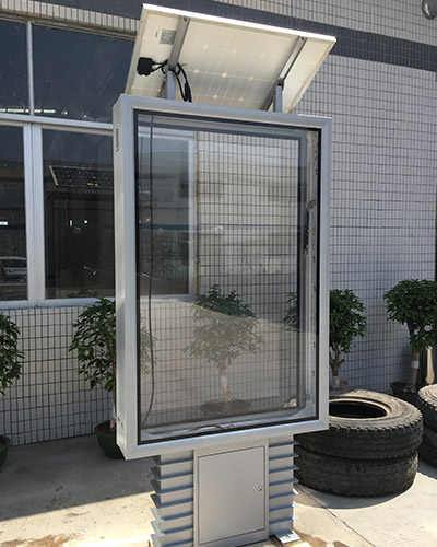 YEROO-Best Standing Light Box Street Adverting Solar Light Boxyr-slb-0007 Manufacture-18