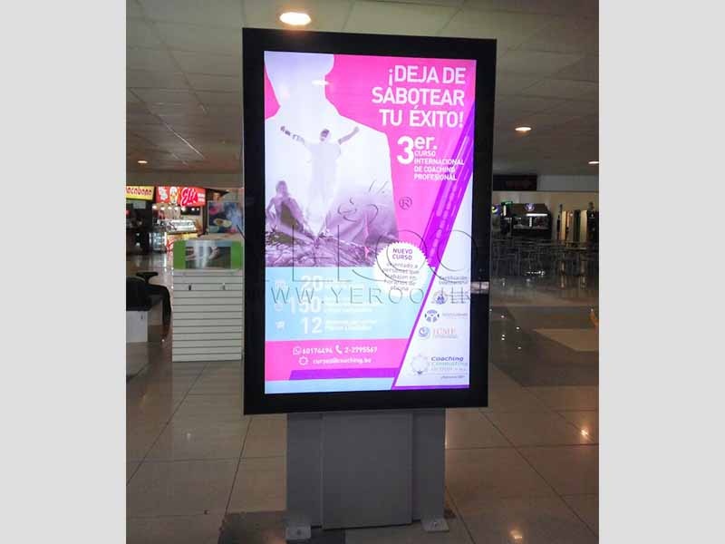 YEROO outdoor light box free design for advertising-27