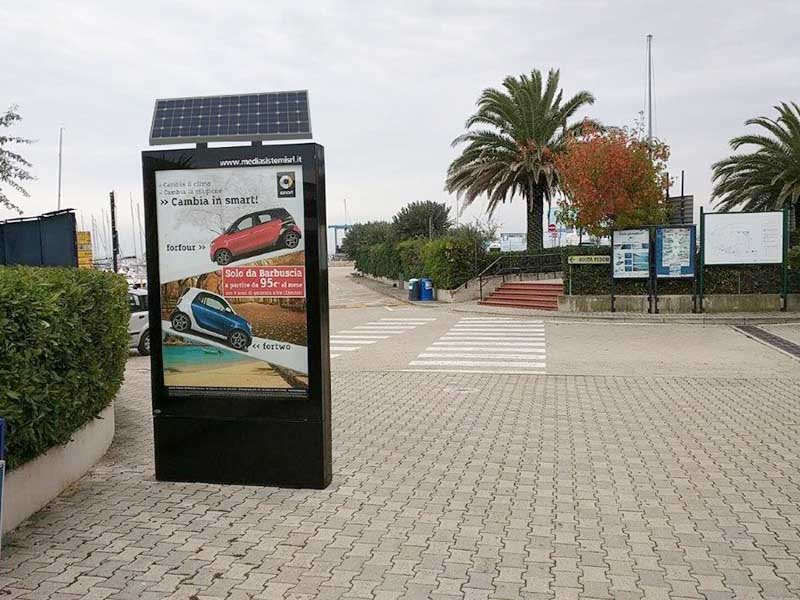 YEROO outdoor light box free design for advertising-32