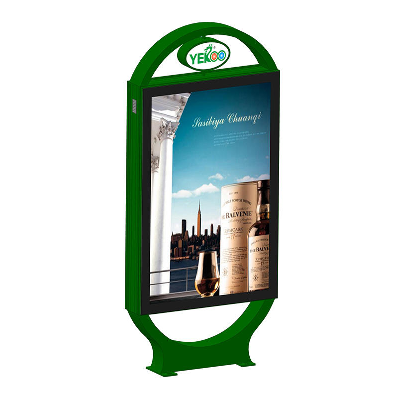 Customized design double sided advertising light box YR-LB-0003