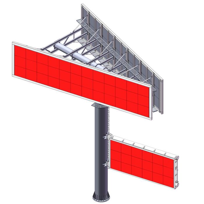 YEROO-digital outdoor billboard ,gantry billboard   YEROO-1
