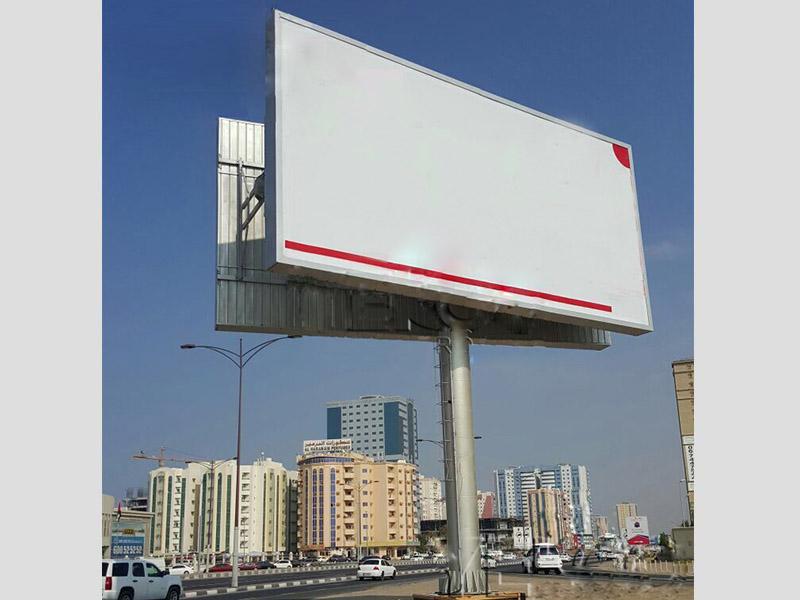steel structure billboard outdoor supplier for highway-23