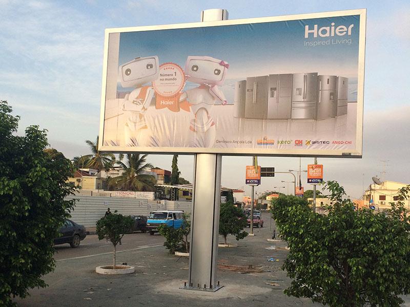 steel structure billboard outdoor supplier for highway-24