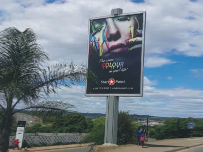 steel structure billboard outdoor supplier for highway-26