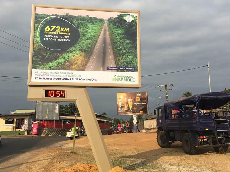 steel structure billboard outdoor supplier for highway-27