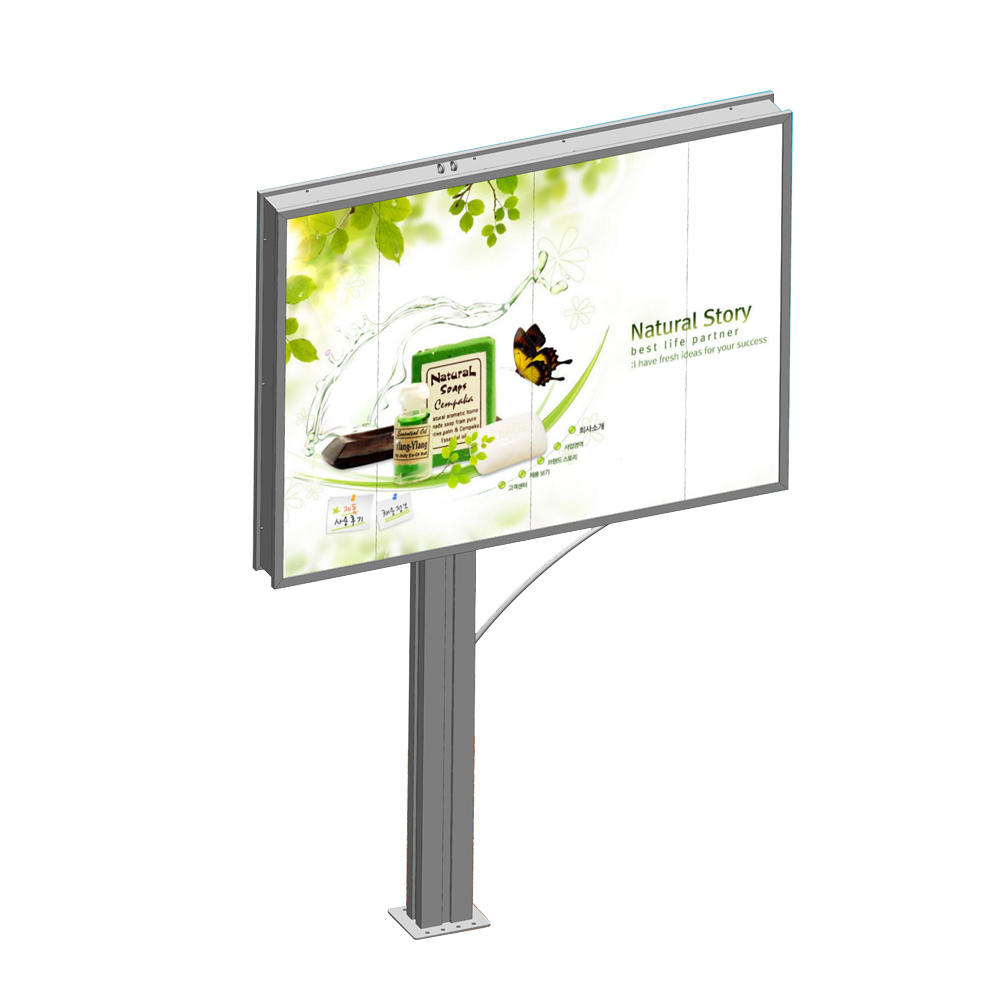 Hot sales double side advertising outdoor billboard