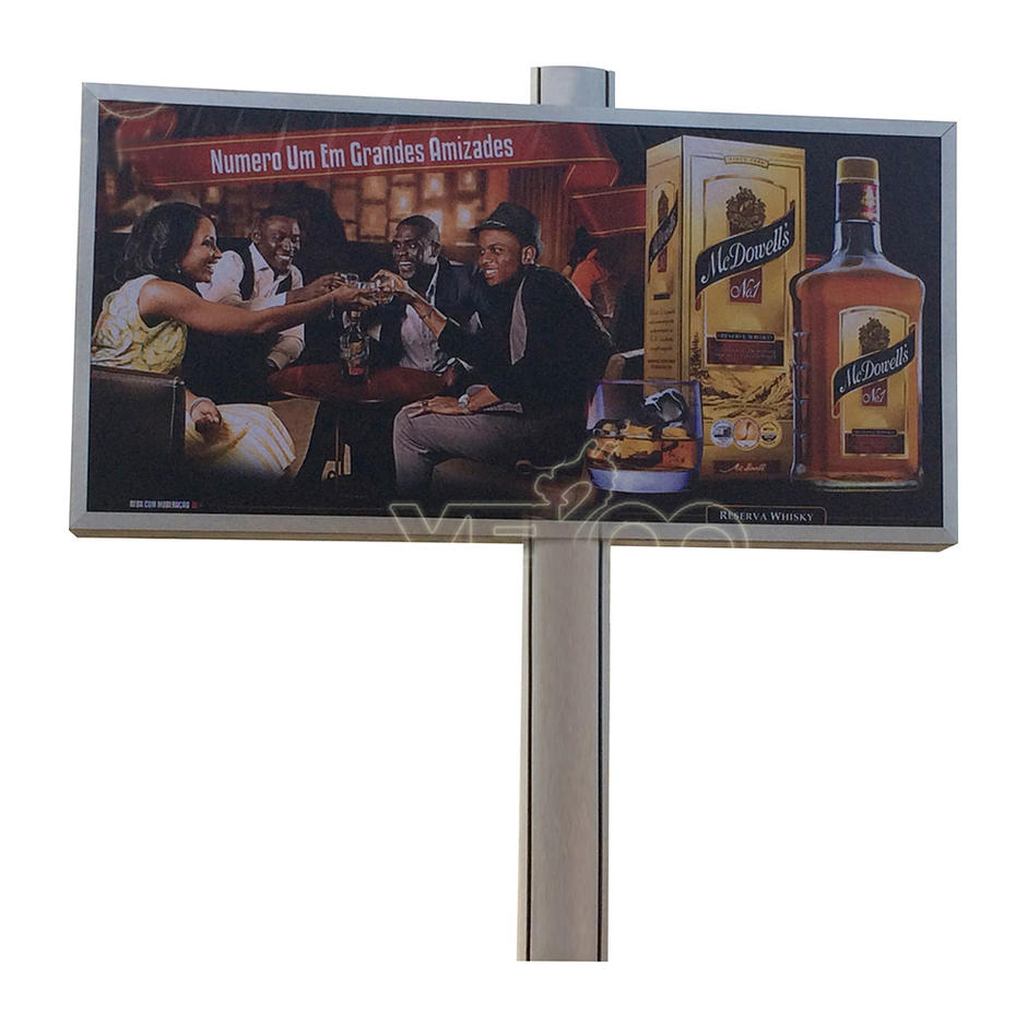 Outdoor 6m x 3m free standing backlit mega billboard