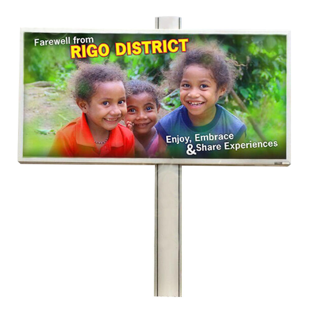 YEROO-BB-0007 Outdoor 6m x 3m free standing backlit mega billboard