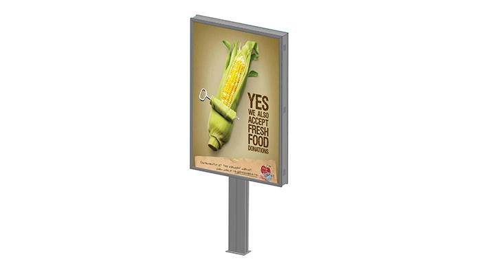 YEROO-Find Backlit Billboard Outdoor Portrait Backlit Double Side Billboard