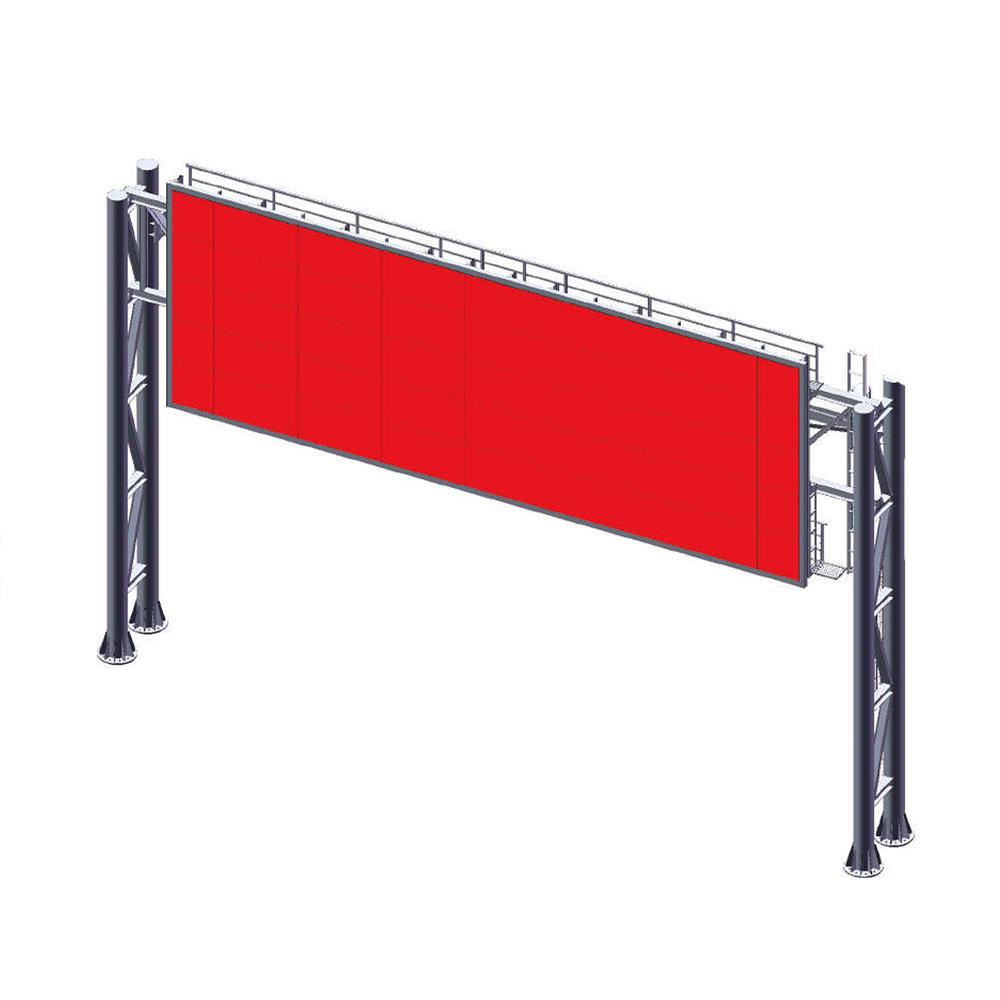 YEROO-LCB-001 P16 Big Size Advertising Billboard Full Color Video Display Gantry Billboard