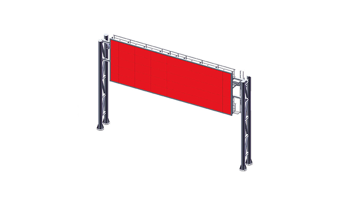 stainless steel electronic billboard stainless steel outdoor ads-4
