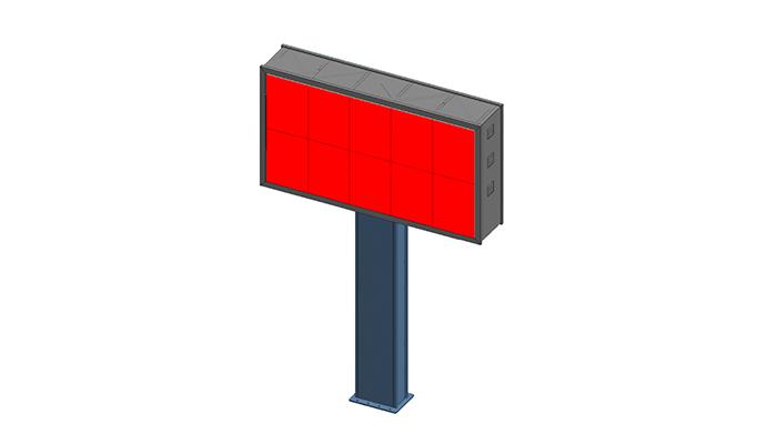 YEROO-Find Digital Outdoor Billboard Gantry Billboard From Yeroo Bus Shelter-3