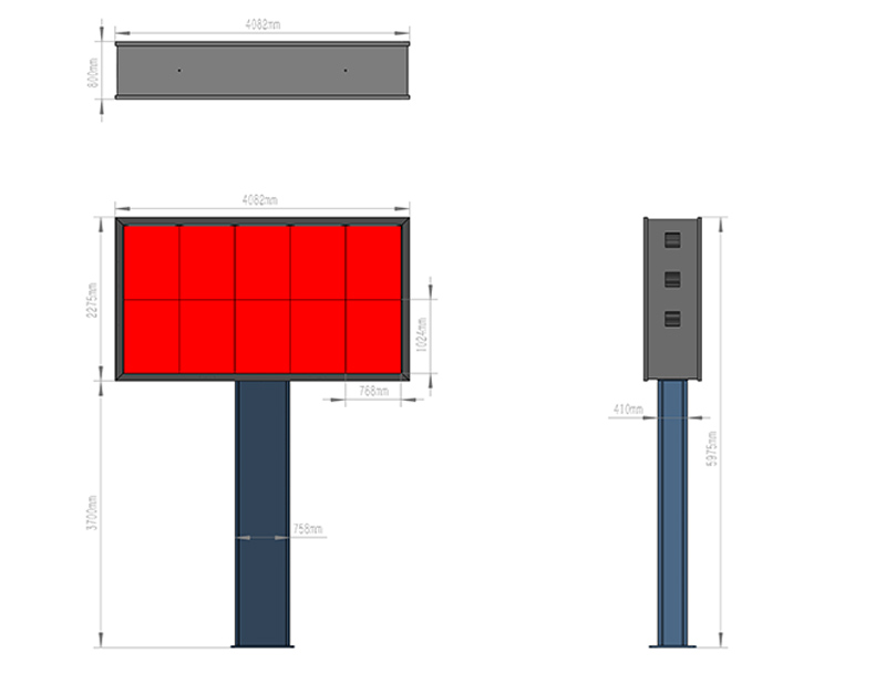 YEROO-Find Digital Outdoor Billboard Gantry Billboard From Yeroo Bus Shelter-5