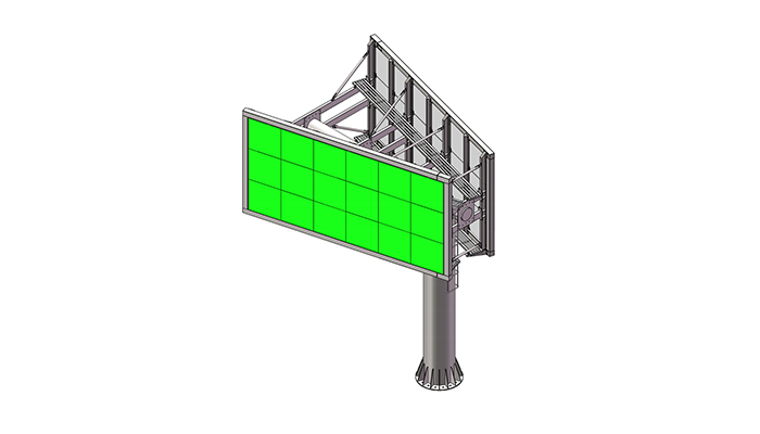 YEROO-Best Digital Outdoor Billboard Outdoor V Shaped P8 P10 P16 Led Billboard-3