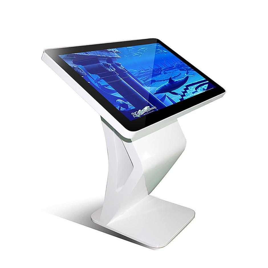 touch interactive smart screen information  kiosk