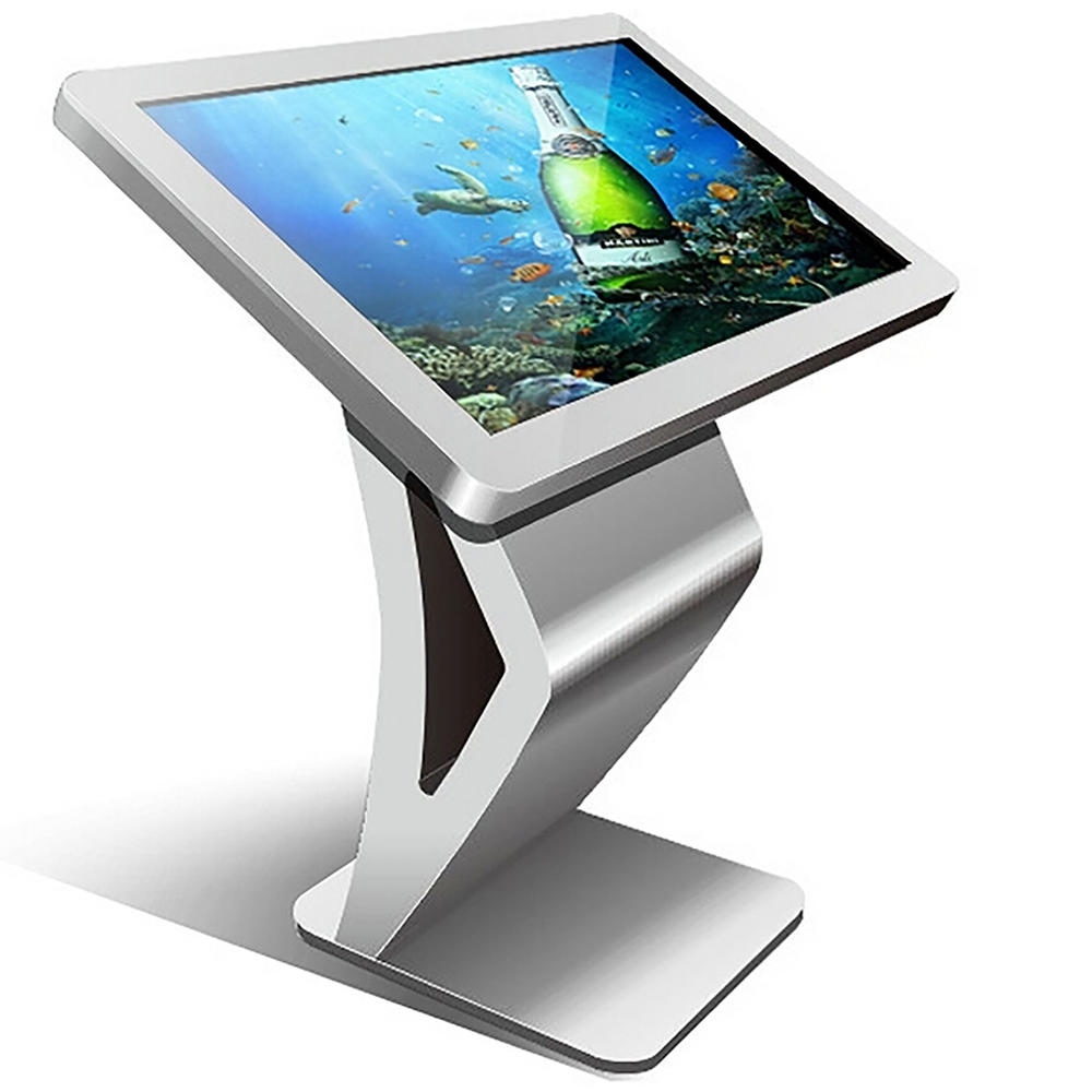 touch interactive smart screen information  kiosk