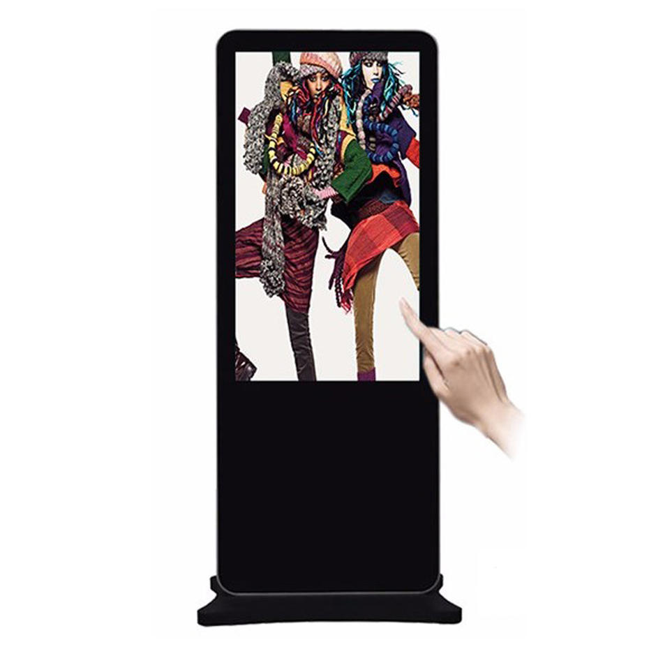 indoor interactive advertising touch screen digital sigange