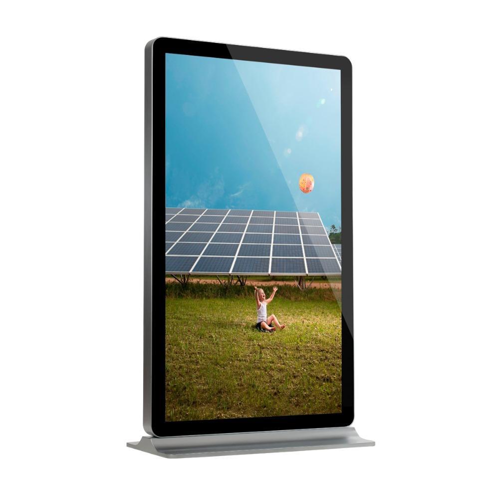 YEROO-ID-0003 84 inch indoor floor stand lcd kiosk digital screen