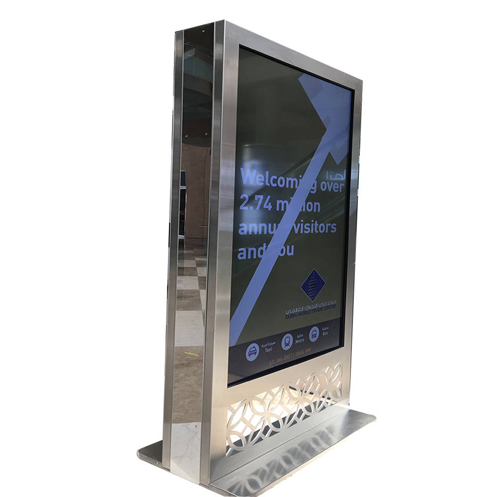 YEROO-indoor customized 65inch lcd screen advertising display-1