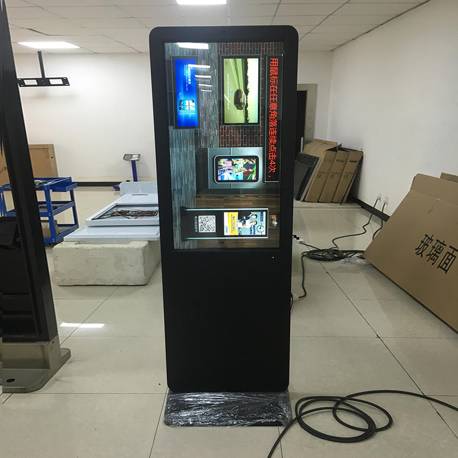 indoor smart kiosk lcd screen with NFC