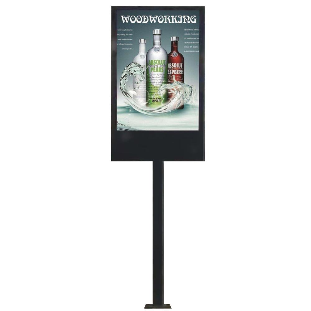 YEROO-OLT-003 P6 outdoor advertising waterproof led screen display mupi