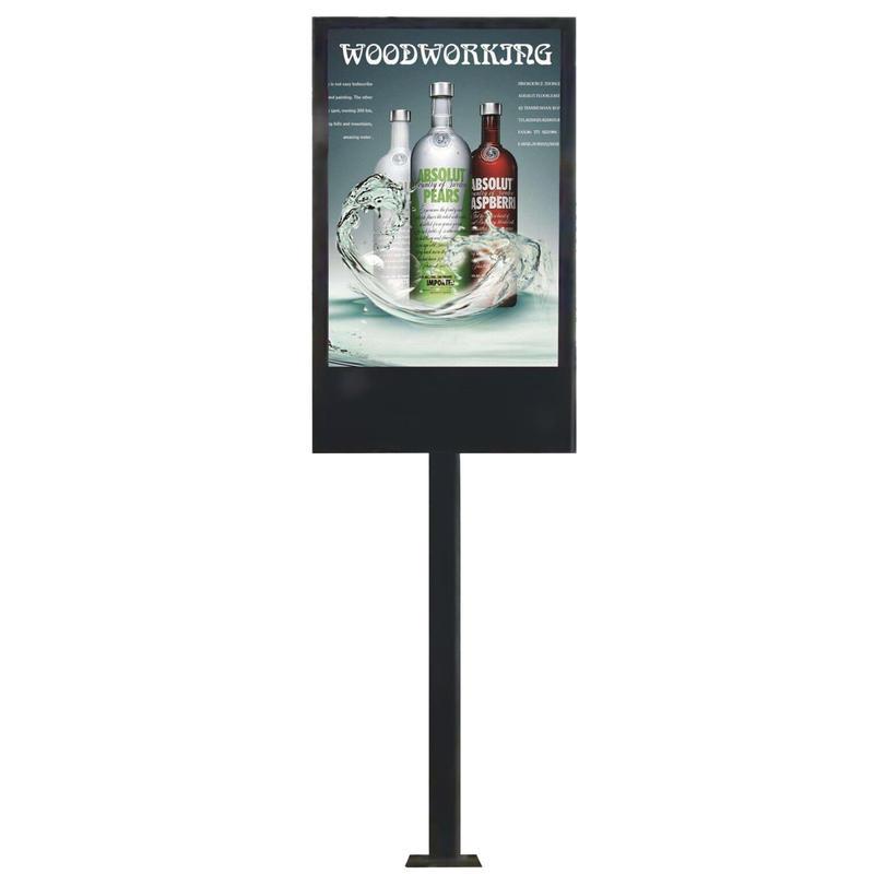 P6 outdoor advertising waterproof led screen display mupi