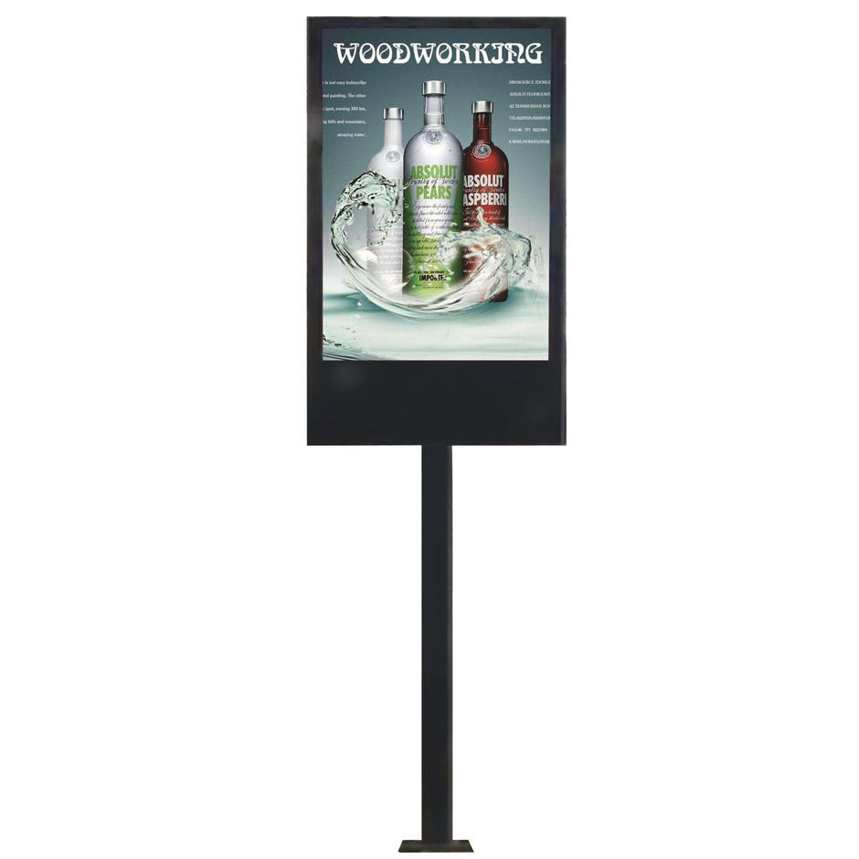 P6 outdoor advertising waterproof led screen display mupi