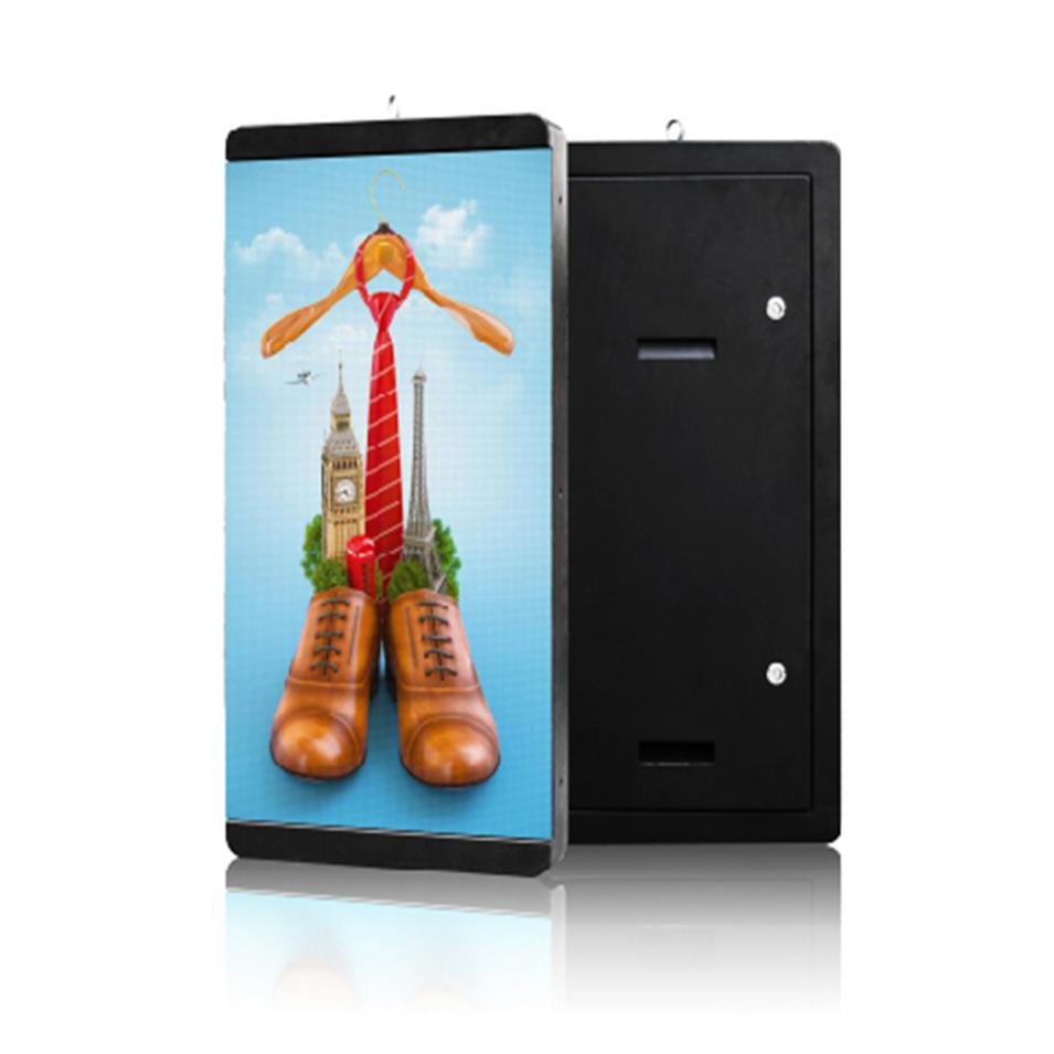 YEROO-OLT-004 lamp post advertising digital led screen display