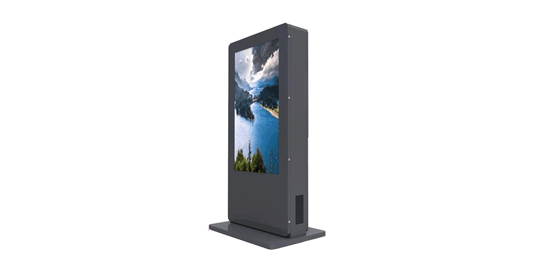 YEROO-High-quality Outdoor Totem | Double Side Outdoor Lcd Totem Kiosk Display