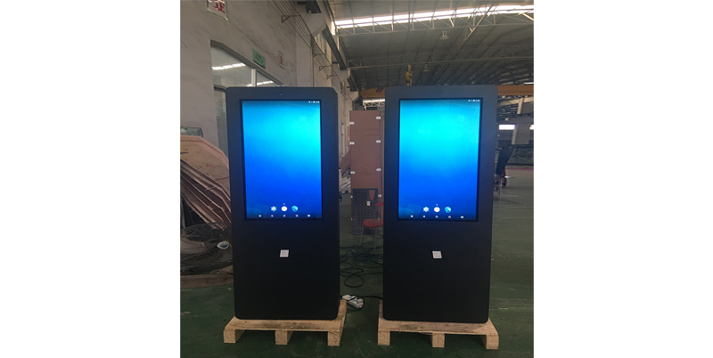 YEROO-Manufacturer Of Outdoor Digital Signage Parking Lot Outdoor Lcd Touch Kiosk