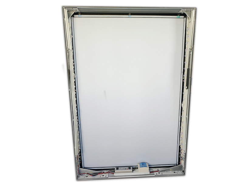 YEROO-Standing Light Box | Outdoor Double Sided Lapm Post Light Box For Advertisingyr-lb-0006-1