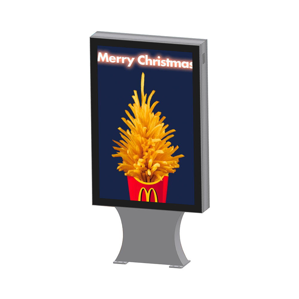 YR-LB-0005 Street advertising double sided outdoor light box