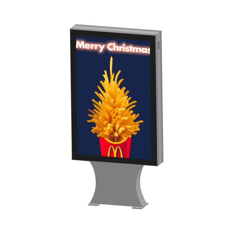 Street advertising double sided outdoor light boxYR-LB-0005