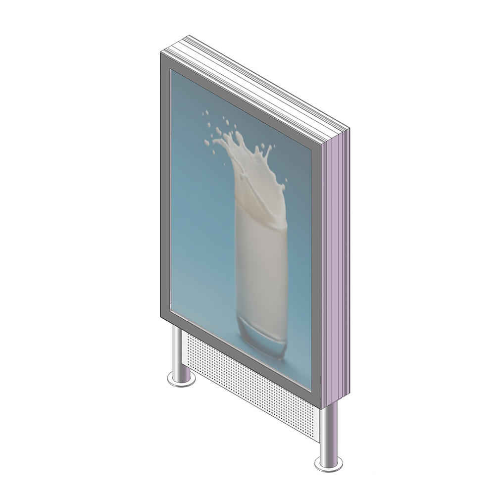 YR-LB-0010 Aluminum double sided outdoor light box