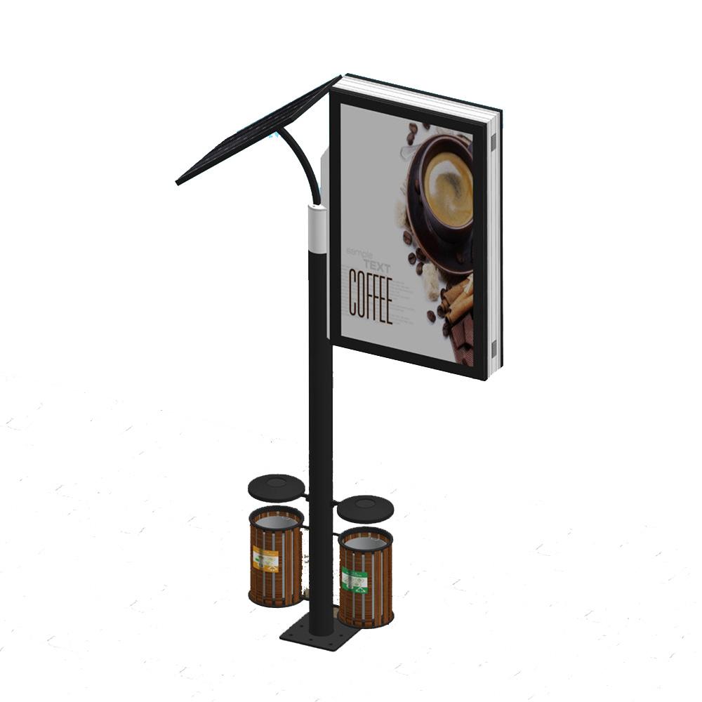 YEROO-aluminum light box | Solar powered light box | YEROO-1