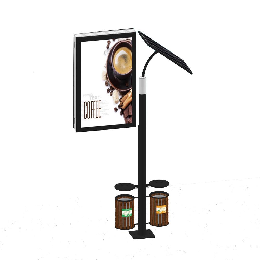 YEROO-aluminum light box | Solar powered light box | YEROO