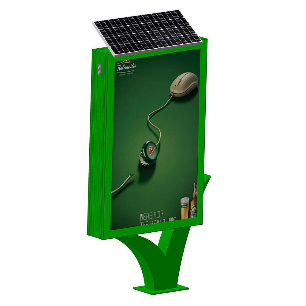YR-SLB-0007 Street adverting solar light box