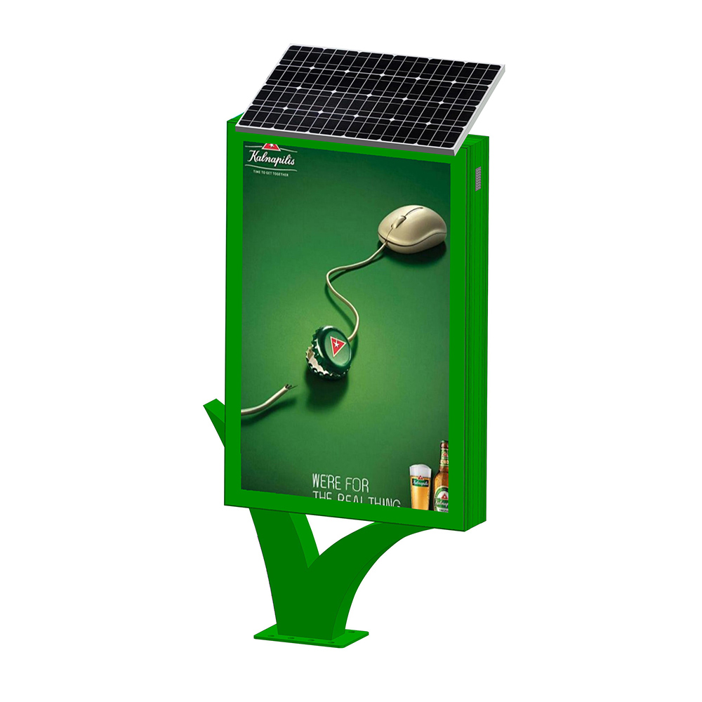 YEROO-Street adverting solar light boxYR-SLB-0007-1