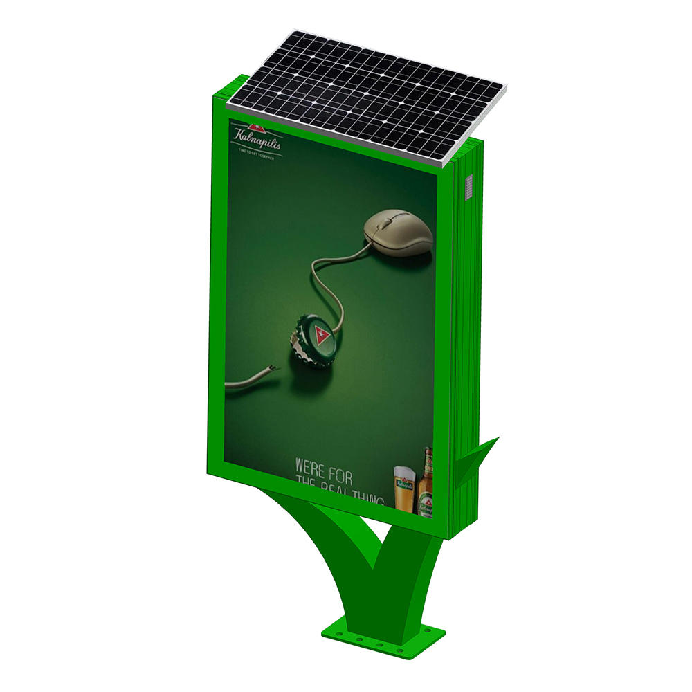 Street adverting solar light boxYR-SLB-0007