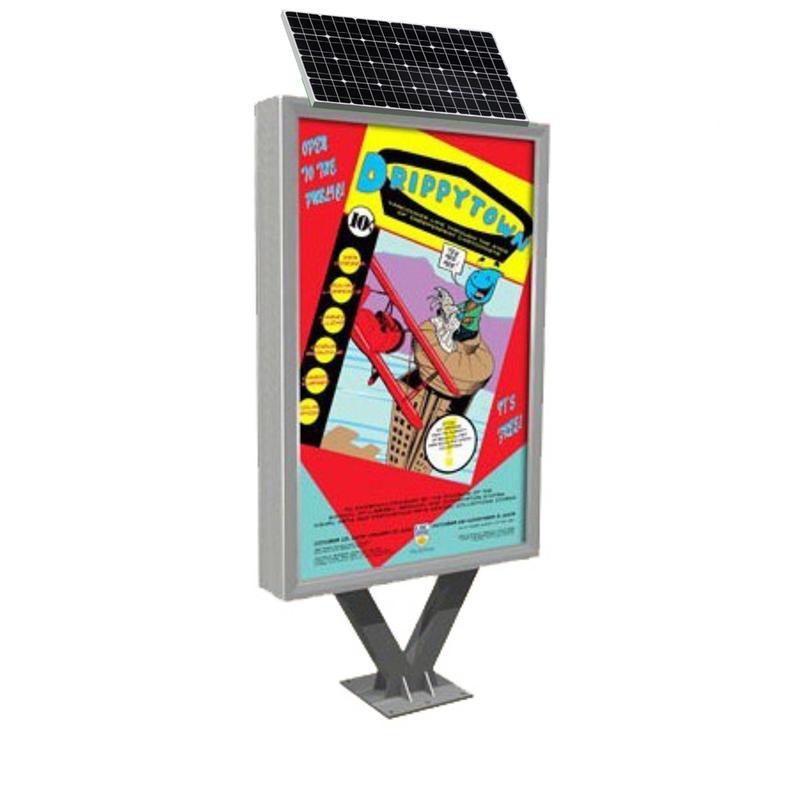 Outdoor advertising solar light boxYR-SLB-0006