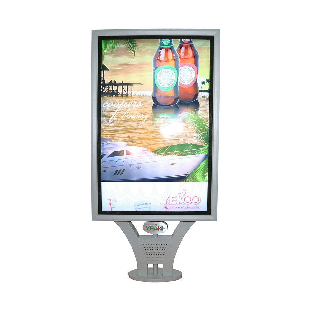 Outdoor mupi scrolling light box YR-SCLB-0004