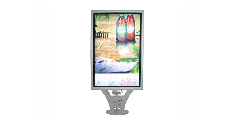 mupi scrolling light box city outdoor light