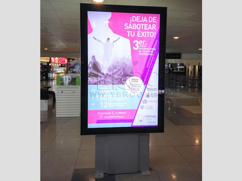 YEROO-Led Light Box Panels Manufacture | Outdoor Advertising Wall Mounted Scrolling-25