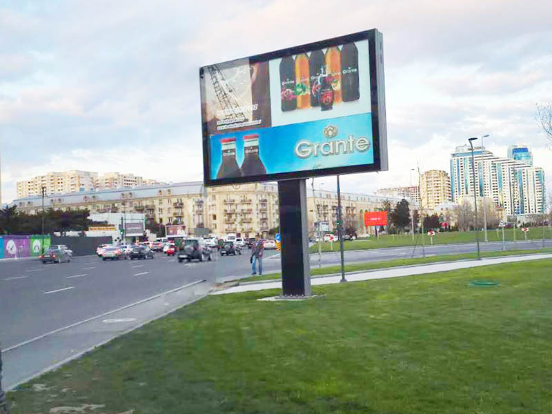YEROO-High-quality Scrolling Billboard | Double Sided Scrolling Advertising Mupis-28