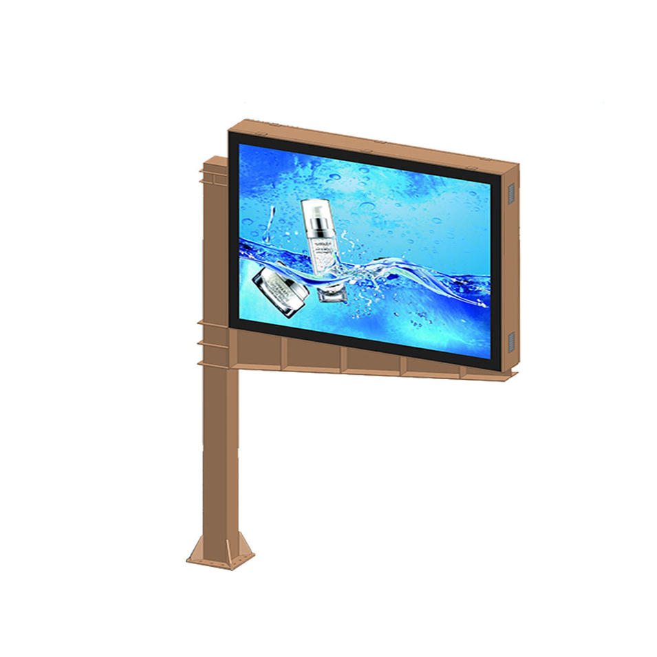 YR-SCB-0005 Double sided scrolling advertising mupis billboard