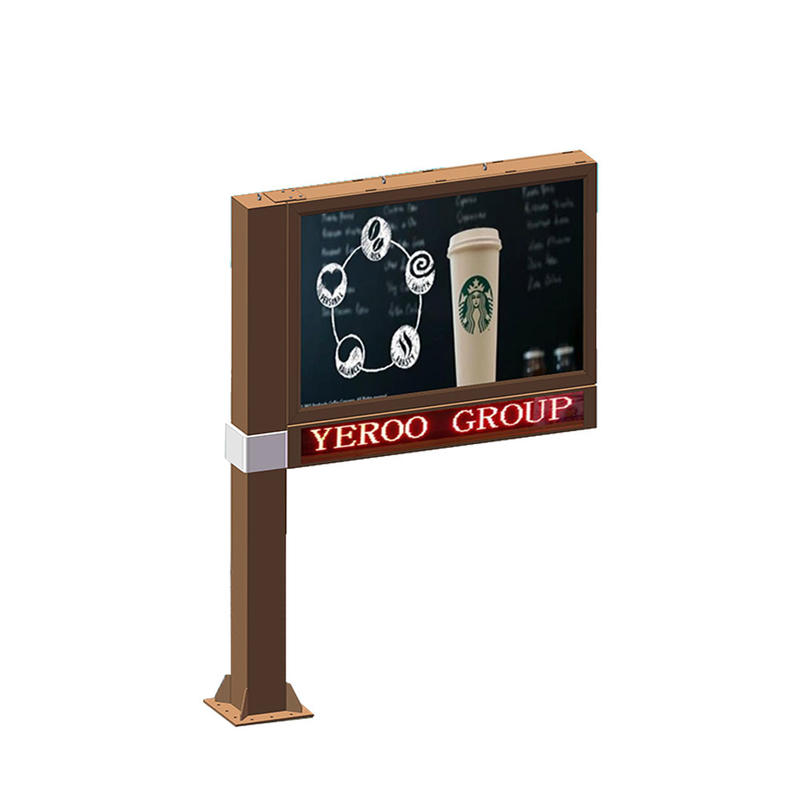 Chinese manufacturer scrolling billboard for sale YR-SCB-0006
